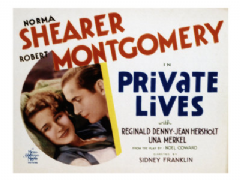 Private Lives 1931 DVD - Norma Shearer / Robert Montgomery